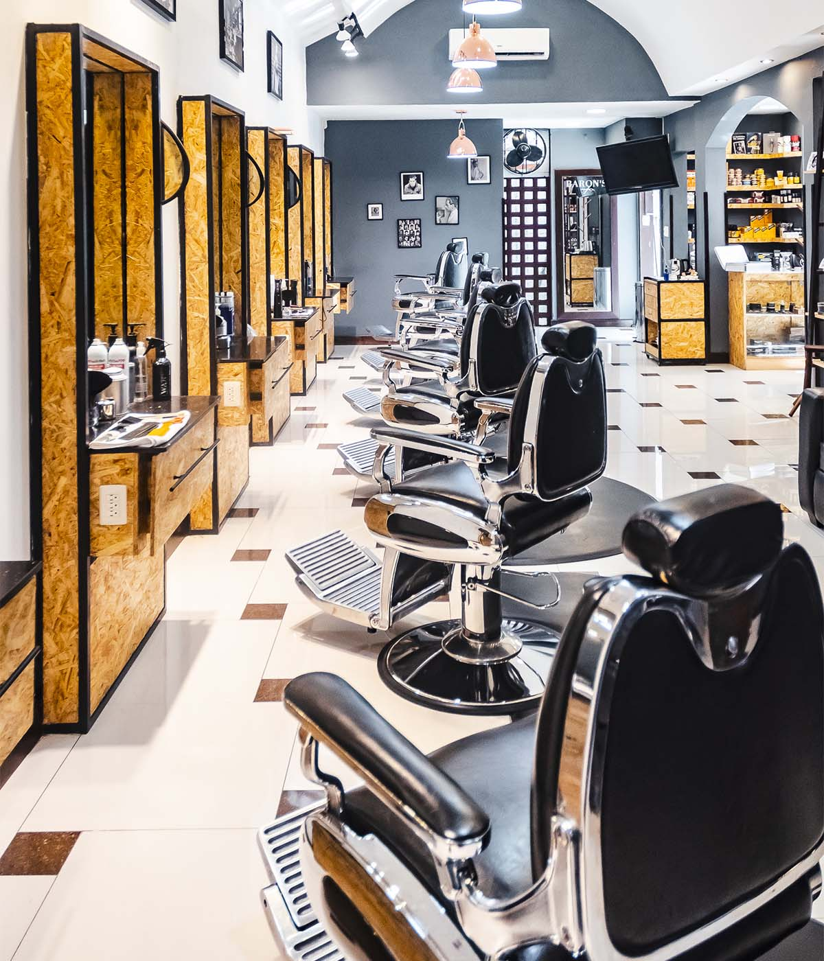 Barbería zona 14